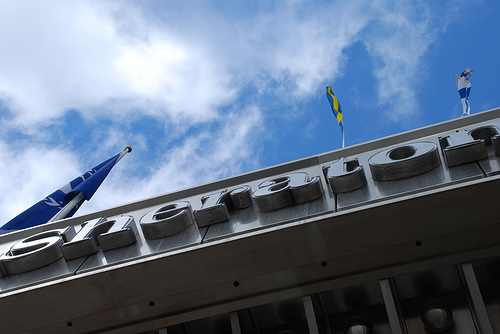 Hotel Sign by Fredrik Forsberg