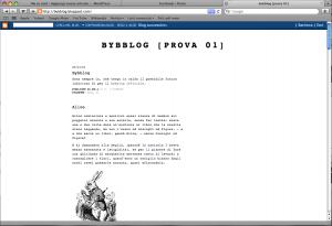 Bybblog.blogspot.net - Minimal theme