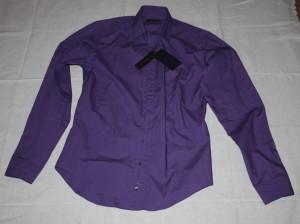 Camicia viola di Zara