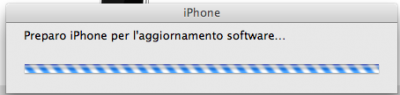 Preparo iPhone per l'aggiornamento software
