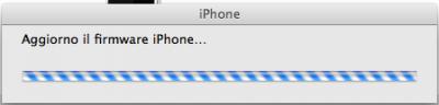 aggiorno il firmware iPhone