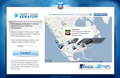 tweet your senator