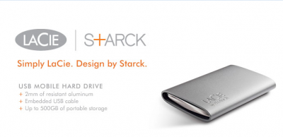 LaCie + Starck hd mobile