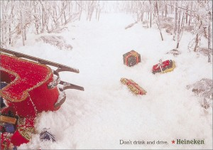 Christmas Heineken